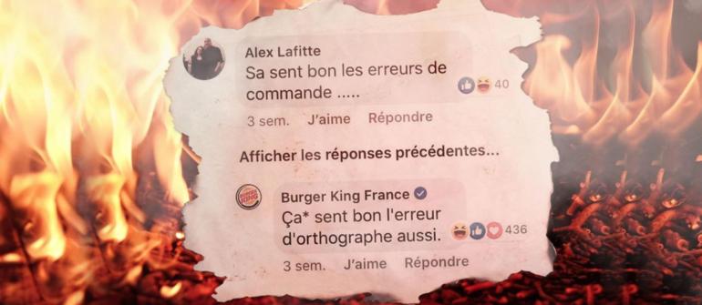 Burger King, un community manager créatif et … décalé